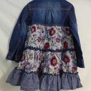Mexx Dresses - Mexx Kids size 3 jean dress.  Partial button front